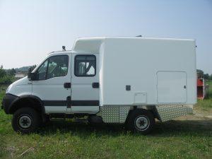 Iveco Daily doppia cabina 4x4
