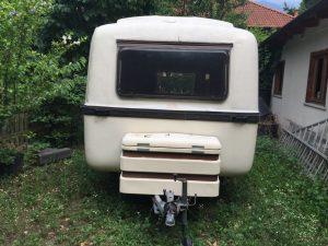 veicolo speciale rifacimento vecchia roulotte grazziella