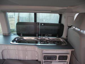 Volkswagen Beach modificato con cucina