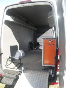 Porta moto Mercedes
