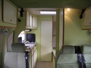 Skylab modello porta moto - Interni